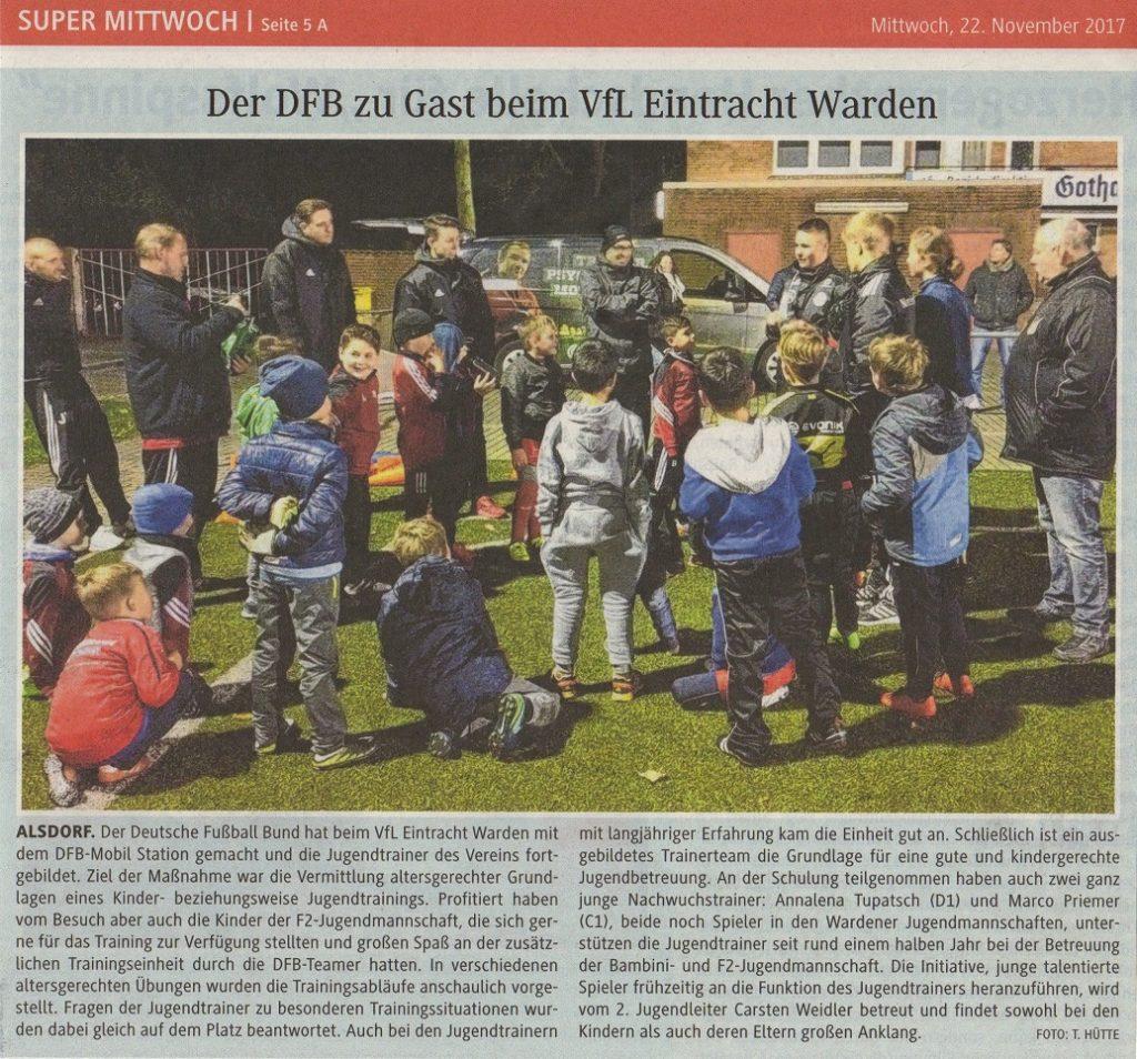 DFB zu Gast bei der Eintracht